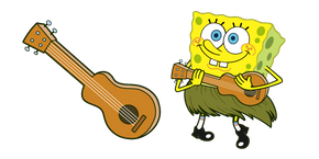 Курсор SpongeBob and Ukulele