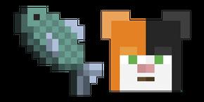 Курсор Minecraft Fish
