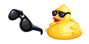 Cool as Duck Meme Cursor