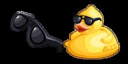 Cool as Duck Meme Cursor