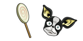 JoJo's Bizarre Adventure Iggy and Lollipop Cursor