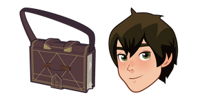 The Dragon Prince Callum and Sketchbook Cursor