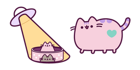 Alien Pusheen Curseur