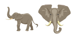 Elephant Cursor