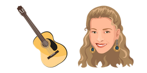 Friends Phoebe Buffay Cursor
