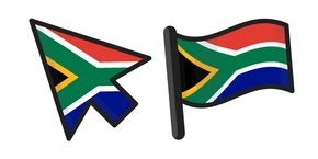 South Africa Flag Cursor
