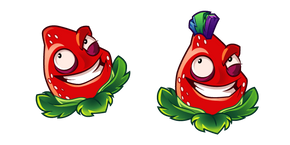 Plants vs. Zombies Strawburst Cursor