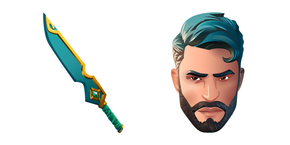 Fortnite Tailor skin and Bespoke Blade Cursor