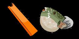 Carrot Fish Meme Curseur