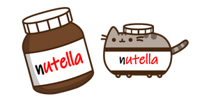 Курсор Nutella Pusheen