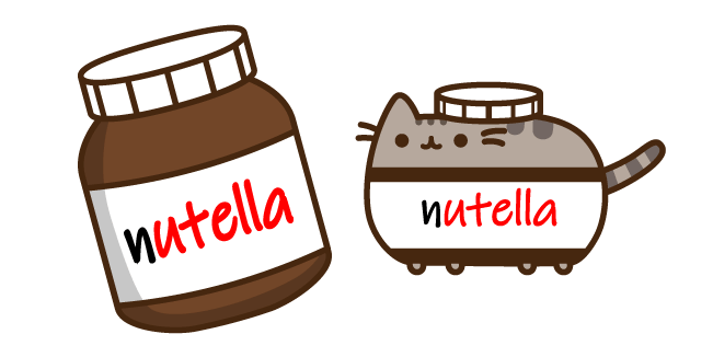 Nutella Pusheen