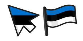 Estonia Flag Curseur