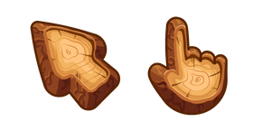 Курсор Materials Wood