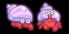 Cute Hermit Crab Curseur