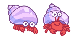 Cute Hermit Crab Cursor