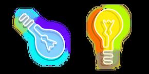 Курсор Neon Light Bulb