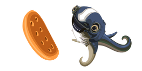 Subnautica Cuddlefish and Cookie Cursor