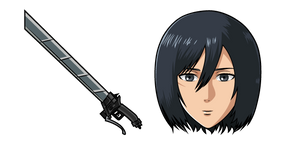 Attack on Titan Mikasa Ackerman Cursor