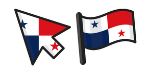 Panama Flag Cursor