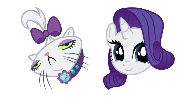 My Little Pony Opalescence and Rarity