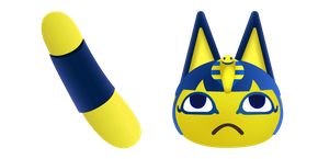 Animal Crossing Ankha Curseur