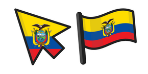 Flag of Ecuador Curseur