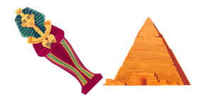 Egyptian Pyramid and Tomb Cursor