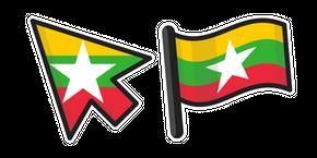 Курсор Флаг Мьянмы