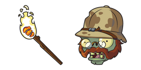 Курсор Plants vs. Zombies Explorer Zombie