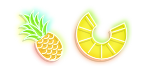 Neon Pineapple Cursor