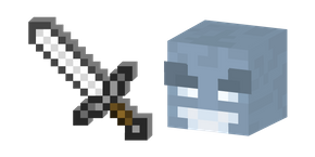 Minecraft Vex and Iron Sword Cursor