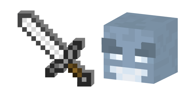 Minecraft Vex and Iron Sword