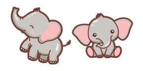Cute Elephant Cursor
