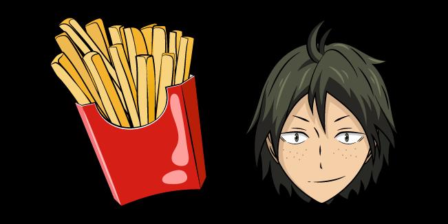 Haikyuu!! Tadashi Yamaguchi and Fries