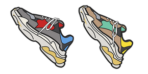 Курсор Balenciaga Sneakers