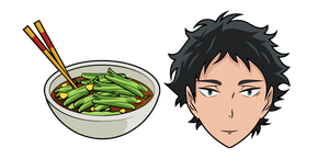 Haikyuu!! Keiji Akaashi and Rapeseed Soup Cursor