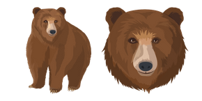 Brown Bear Cursor