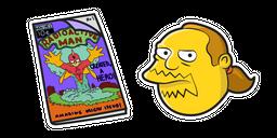 Симпсоны Джефф и Комиксы