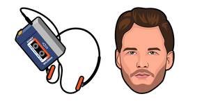 Star-Lord Peter Quill Walkman Cursor
