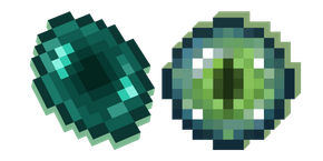 Minecraft Ender Pearl and Eye of Ender