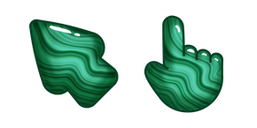 Materials Malachite Cursor