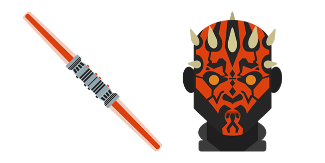 Star Wars Darth Maul Lightsaber
