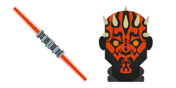 Star Wars Darth Maul Lightsaber Cursor