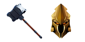 Fortnite Ultima Knight and Vanquisher Cursor