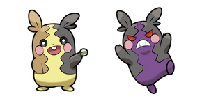 Pokemon Morpeko and Hangry Morpeko Cursor