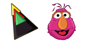 Sesame Street Telly Triangle Hat Cursor