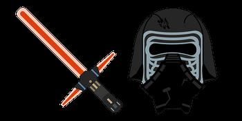 Star Wars Kylo Ren Lightsaber Cursor
