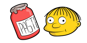 The Simpsons Ralph Wiggum Paste Curseur