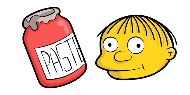 The Simpsons Ralph Wiggum Paste