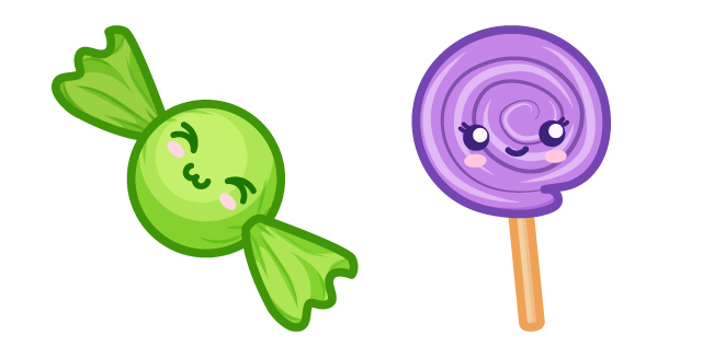 Cute Candy and Lollipop